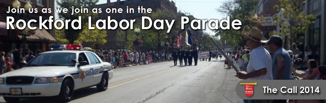 Labor Day Parade 2014 - Rockford Illinois - The Call